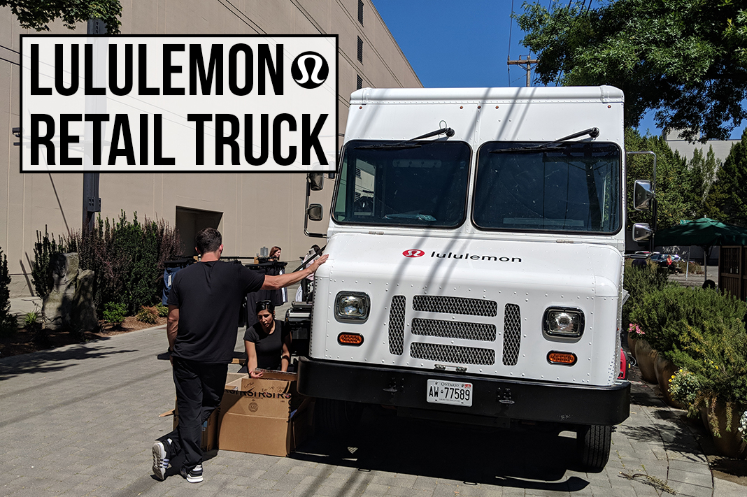 lululemon retail truck comes to seattle washington