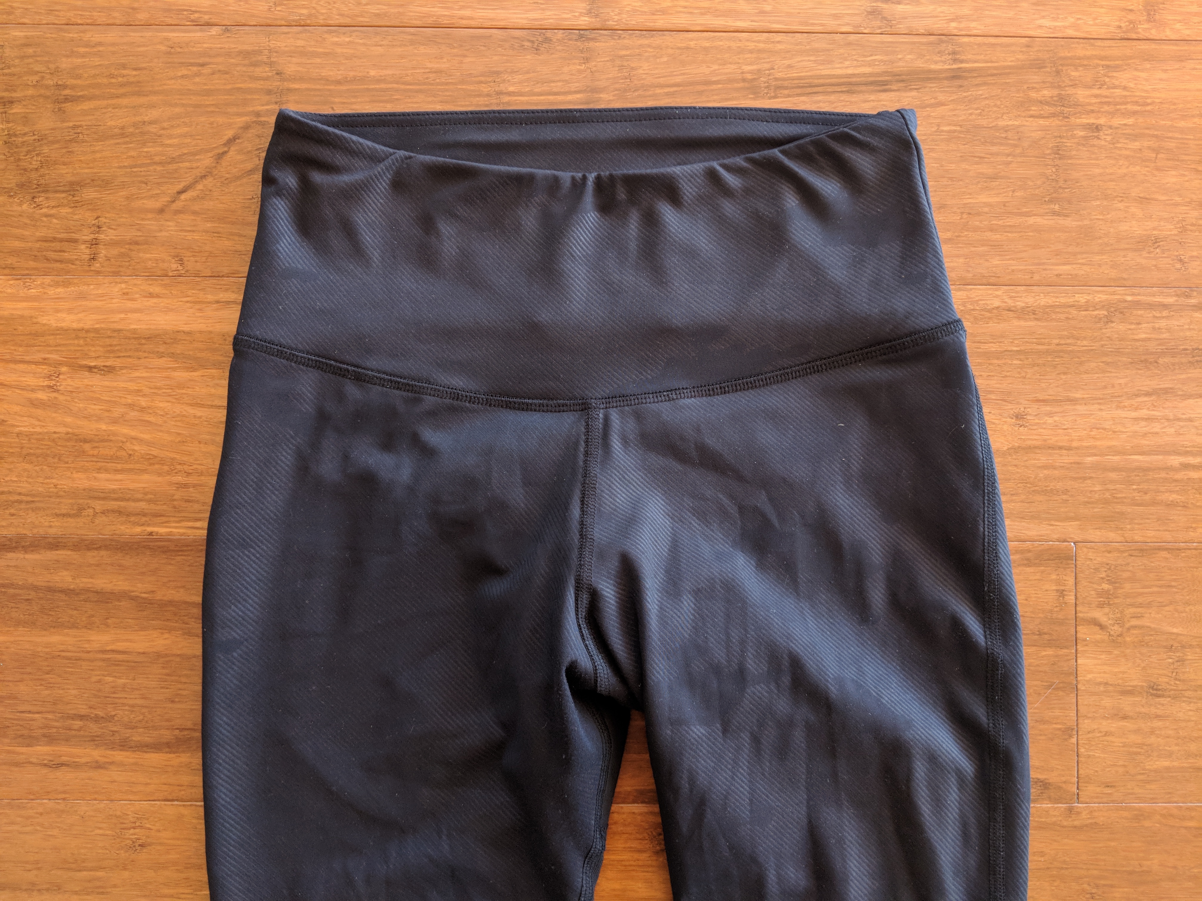 varley review kingman tight leggings waistband front