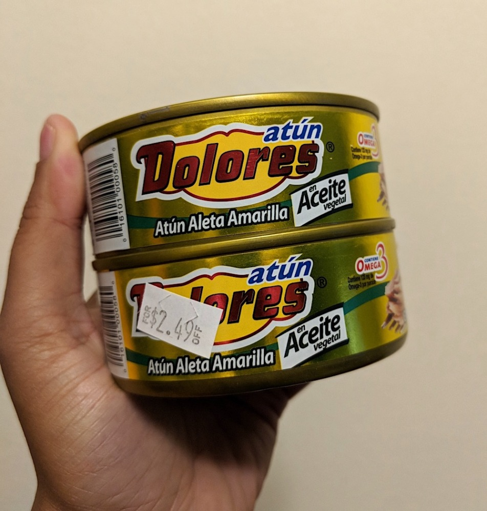 Dolores Canned Tuna in Oil for Causa Recipe