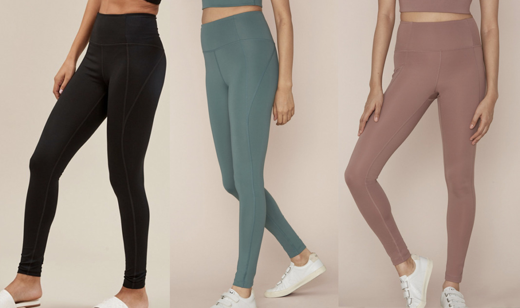 girlfriend collective eco-friendly leggings review