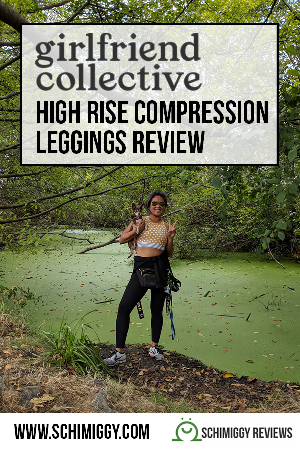 girlfriend collective leggings review high rise compression pants schimiggy