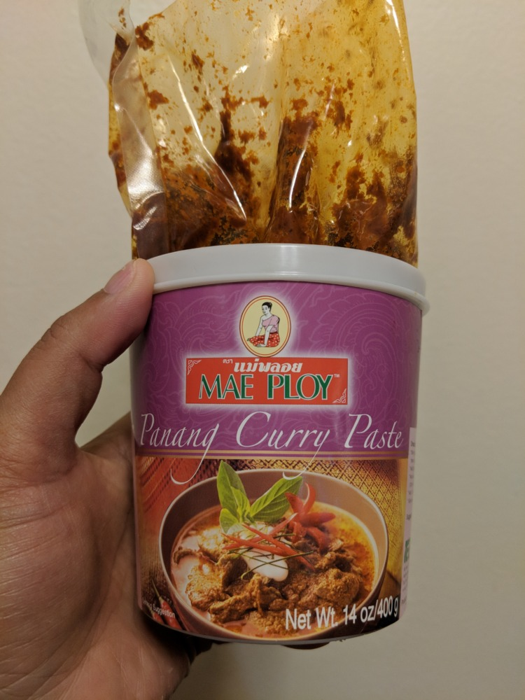 mae ploy thai panang curry paste