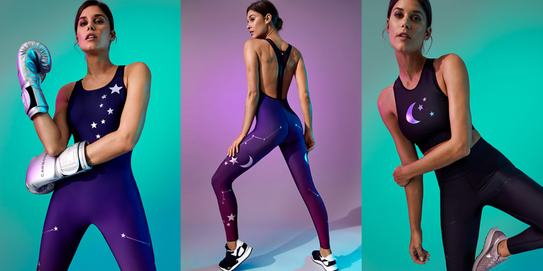 ultracor cosmic collection activewear constellation zodiac prints