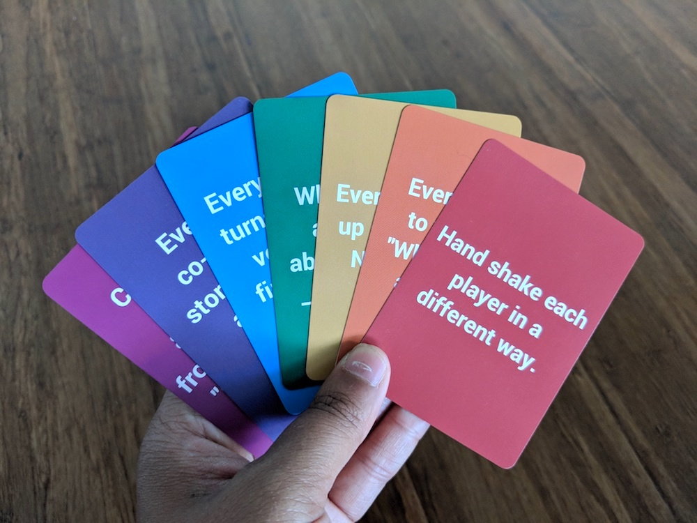 cards for connection rainbow hands schimiggy reviews