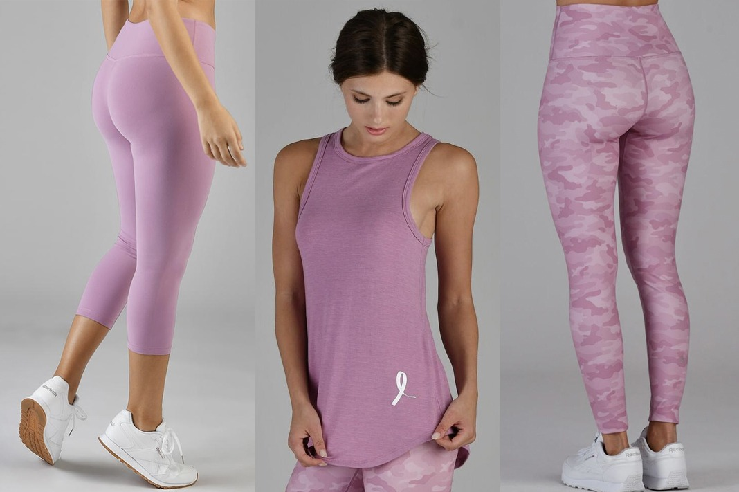Glyder Breast Cancer Awareness BCA Collection in Orchid Haze