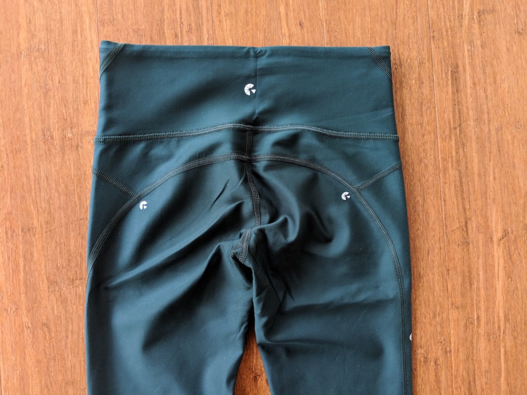 Ghost Flower Innovate Leggings Review Schimiggy waistband back