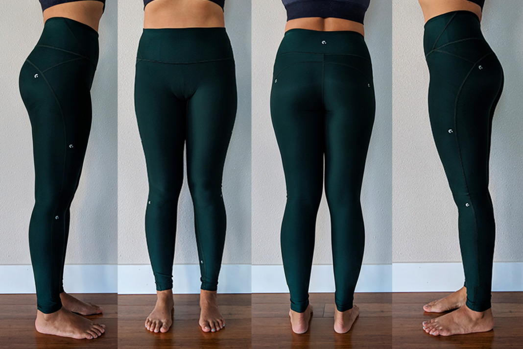 Ghost Flower Review Innovate Emerald Green Leggings Schimiggy