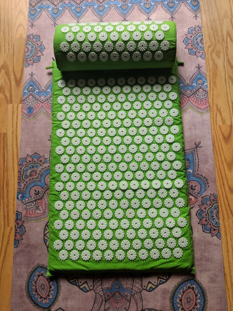 Prosource Prana Acupressure Mat Green Schimiggy Reviews