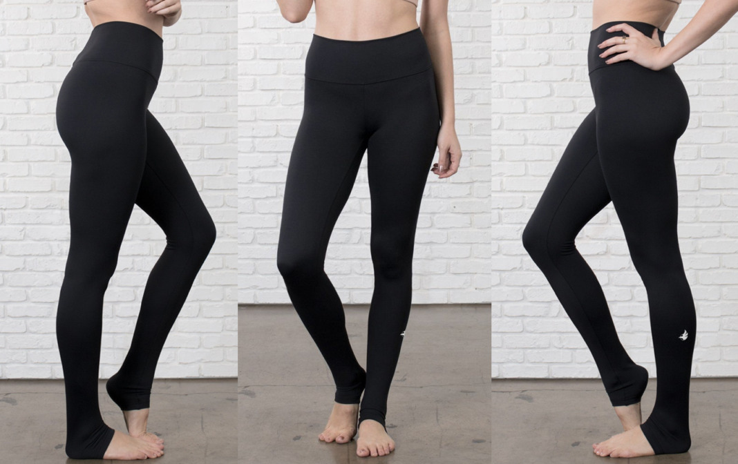 Werkshop Athleisure Black Leggings