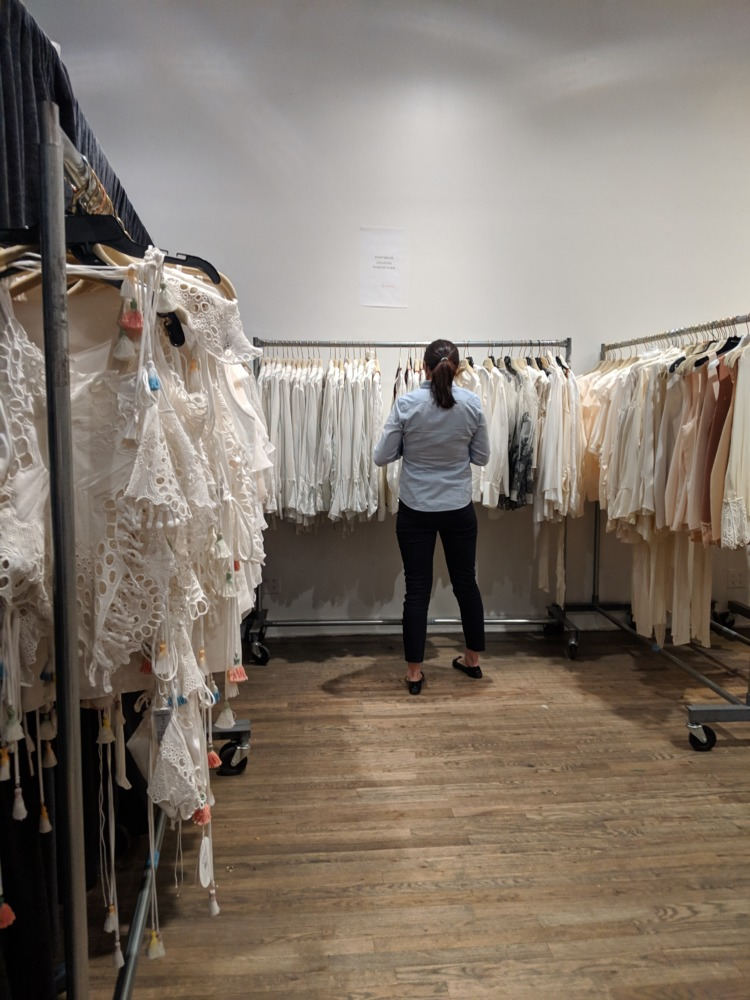 Chloe Sample Sale Photos Fall 2018