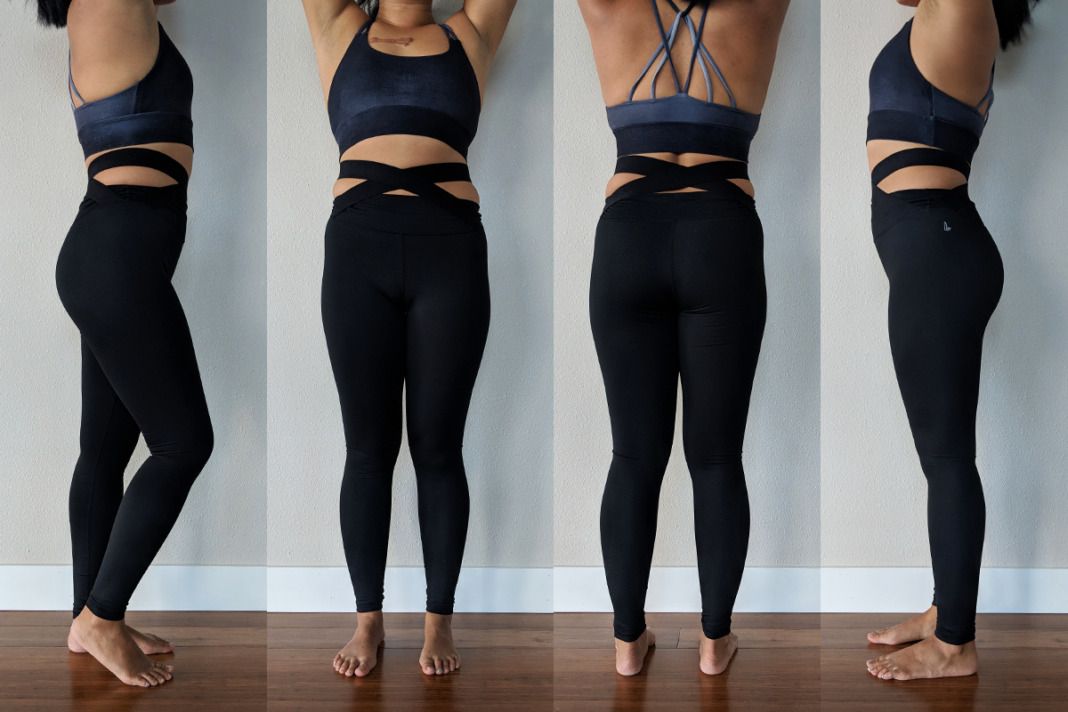 Fabletics High Waisted Statement PowerHold Leggings