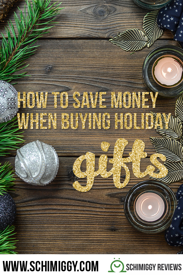 how to save money when buying holiday gifts