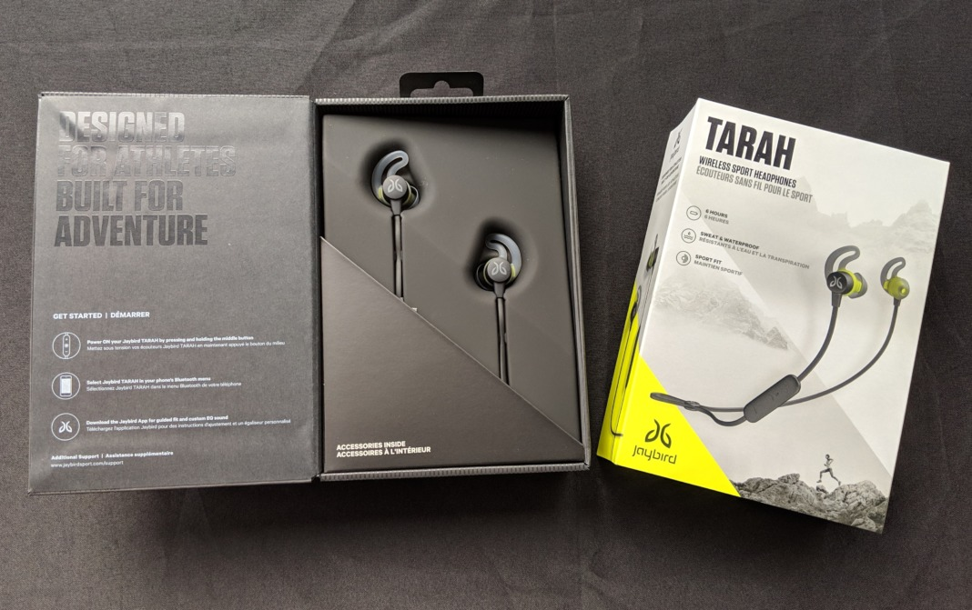 Jaybird Review Tarah Wireless Headphones in Box