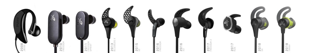 jaybird wireless earphones timeline