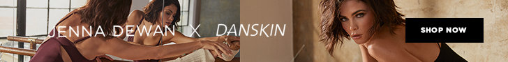 Danskin and Jenna Dewan Collaboration Banner