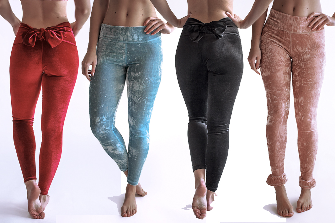 Arthletic Wear Velvet Leggings Yoga Pants Schimiggy Reviews