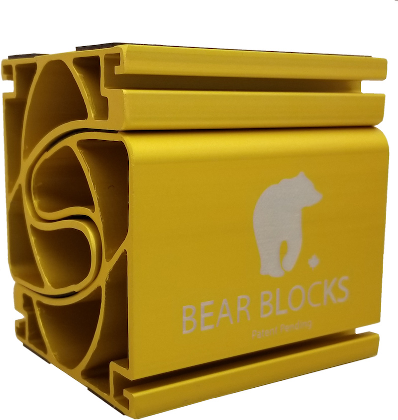 bear blocks gold yellow wrist pain prevention