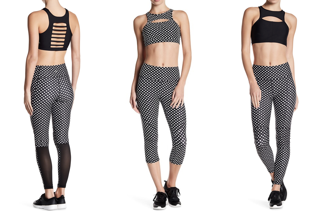 c&c polka dot leggings activewear workout clothes schimiggy reviews