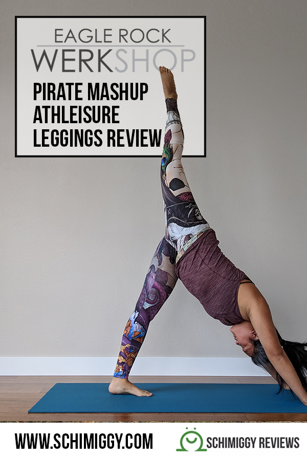 eagle rock werkshop pirate mashup athleisure leggings review schimiggy