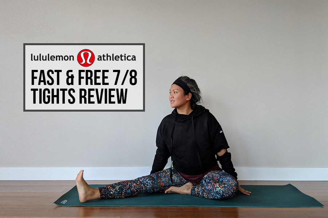 lululemon fast and free leggings schimiggy reviews