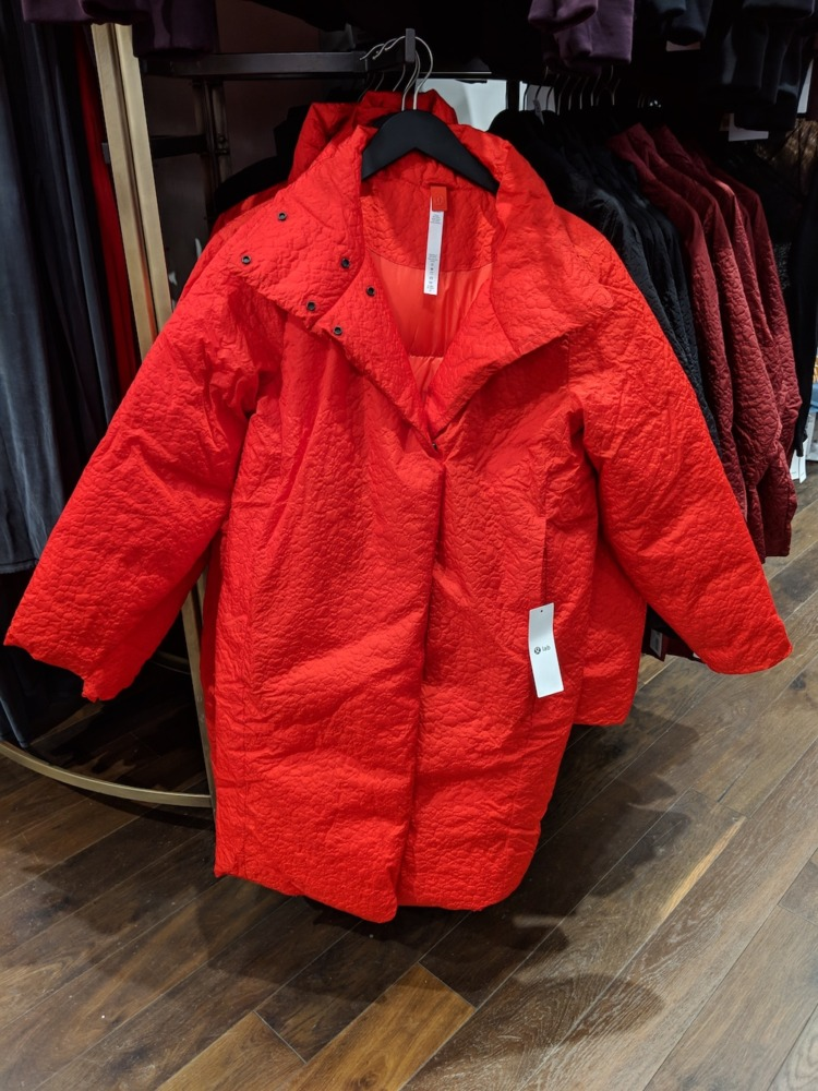 lululemon flagship new york store fashion district 2018 shiwa jacket red