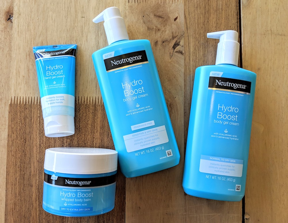 Neutrogena Hydro Boost Skincare Collection