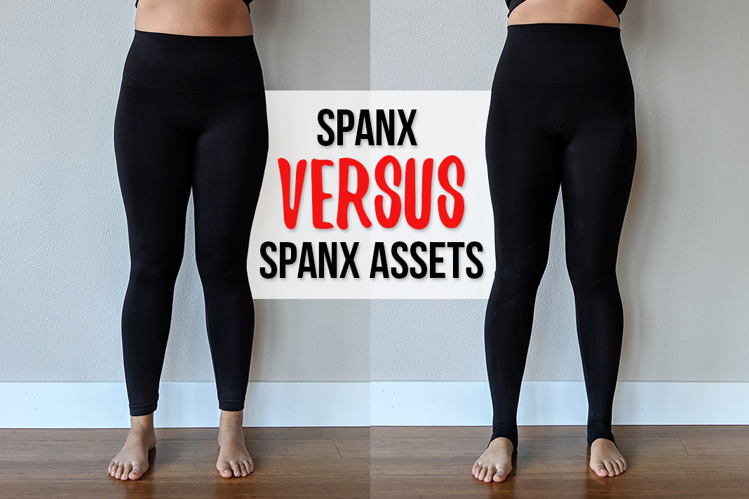 spanx versus spanx assets shapewear leggings schimiggy reviews