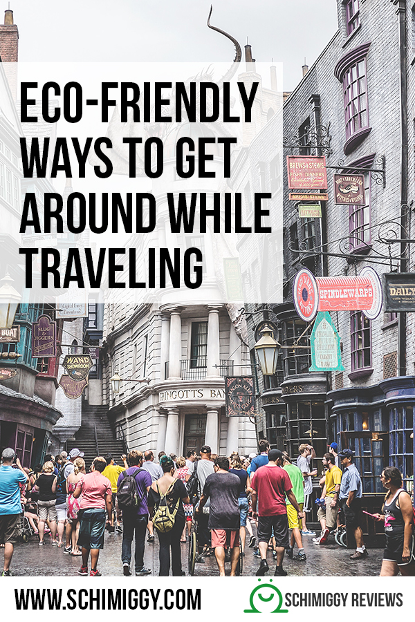 eco friendly ways to get around while traveling