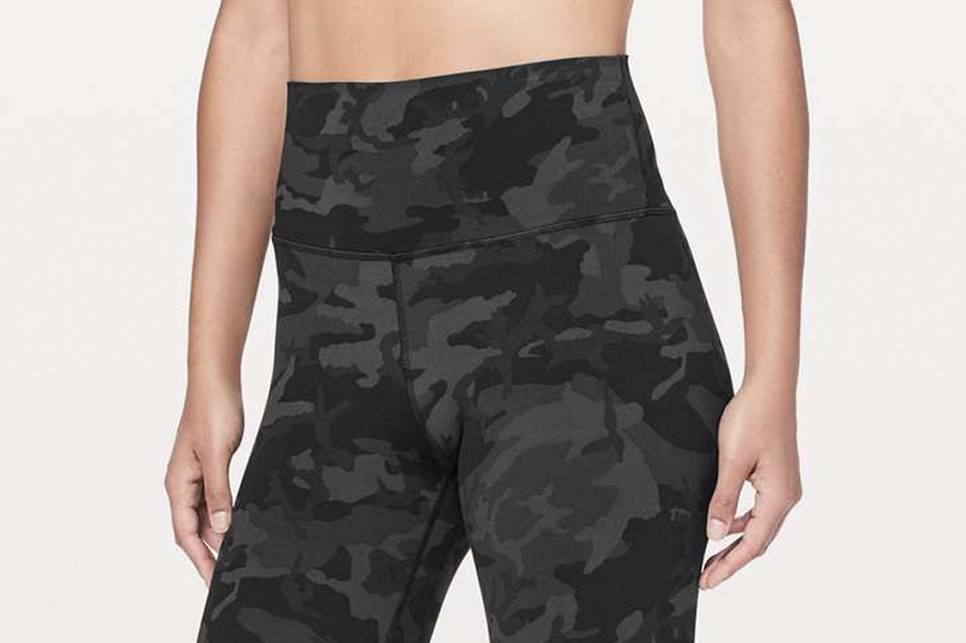 how to keep leggings from falling down lululemon high waist icmg camo align pant