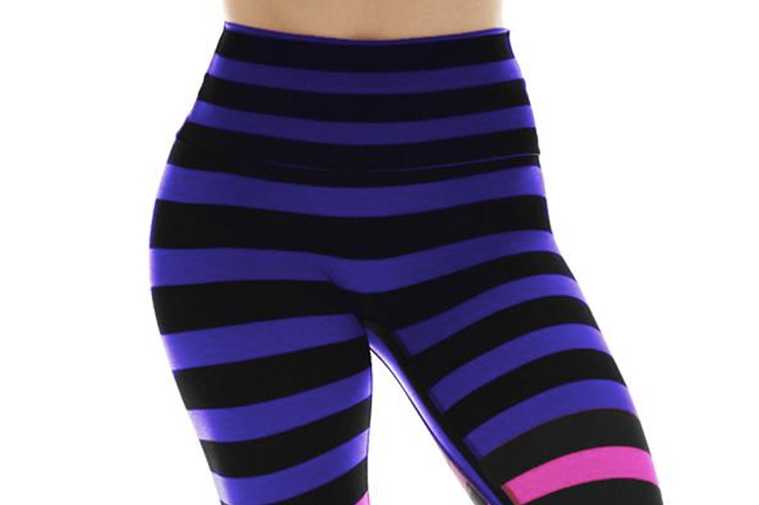 33d75a131eeb k-deer flat front seam signature stripe leggings how to get rid of cameltoe