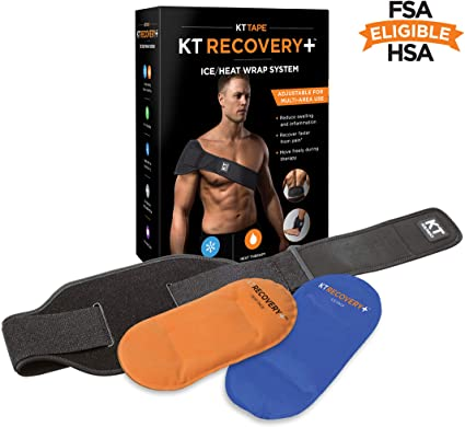 kt tape recovery+ ice heat wrap system