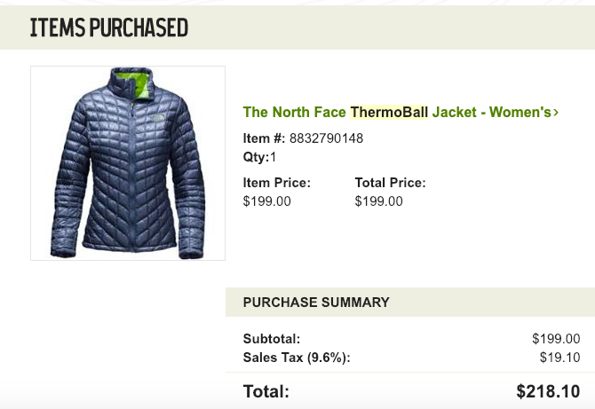 the north face thermoball jacket navy lime green womens