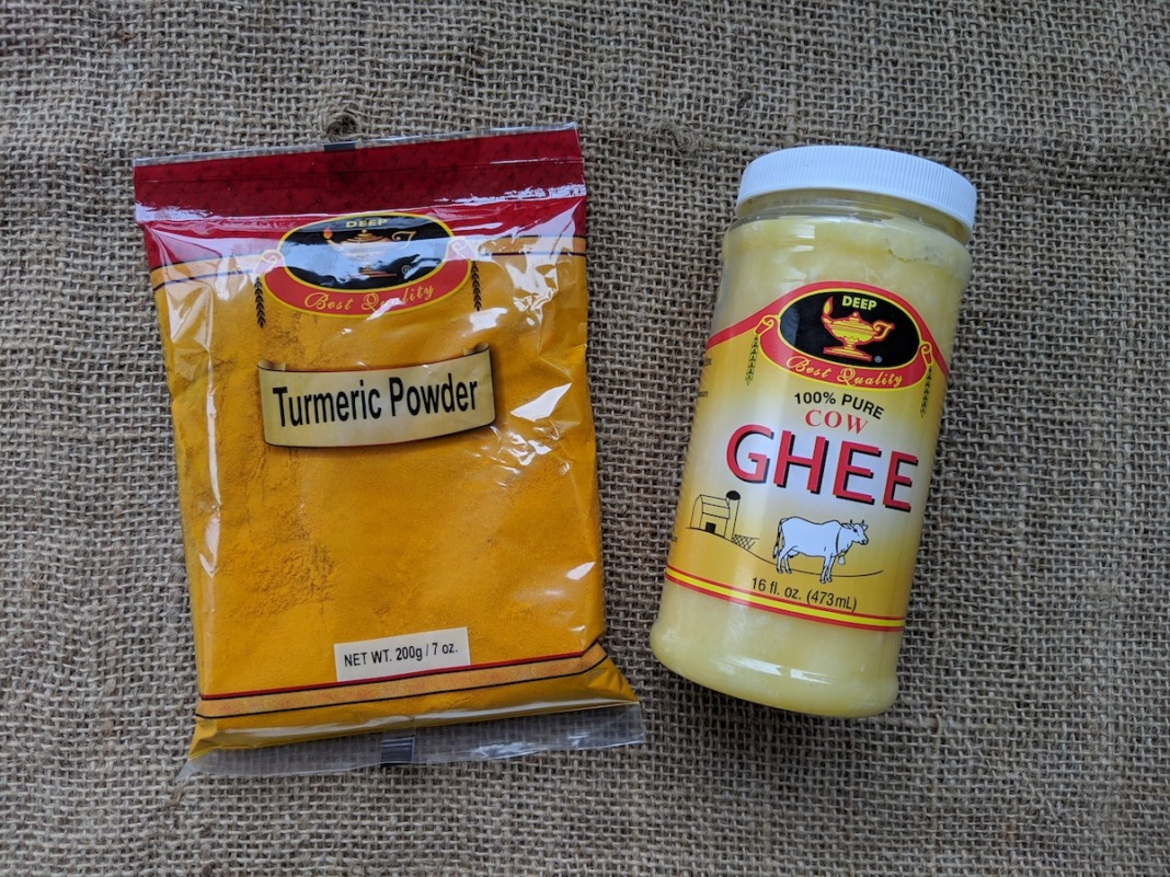 turmeric paste recipe powder ghee butter indian food schimiggy reviews