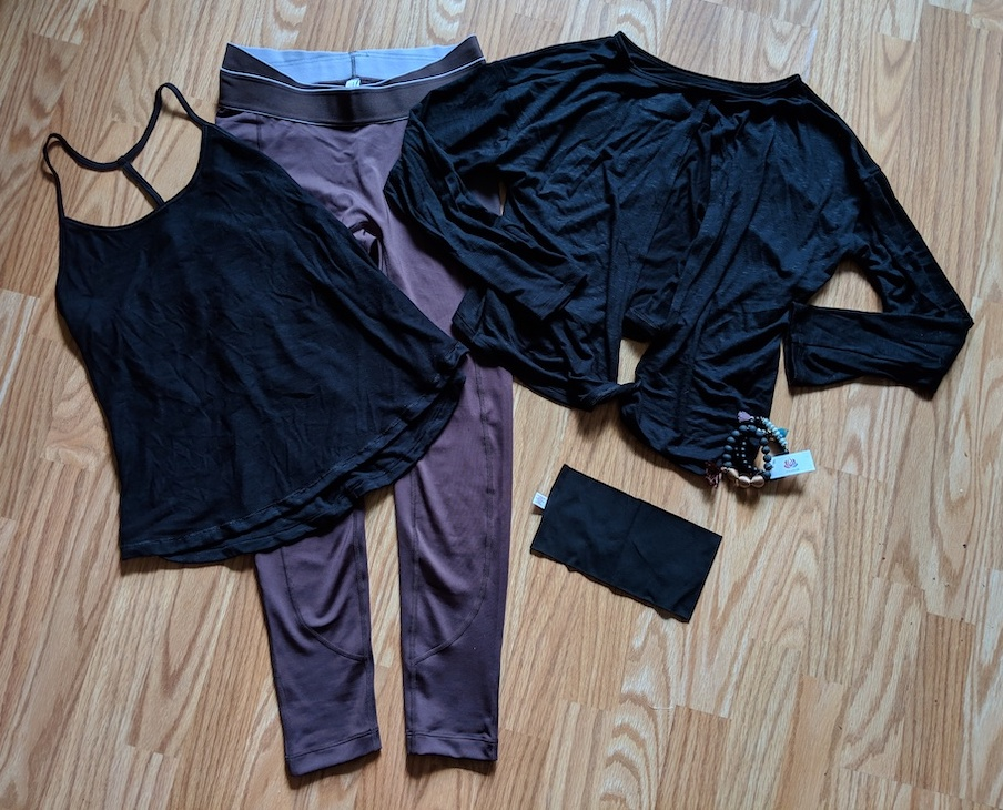 yogaclub outfit december 2018
