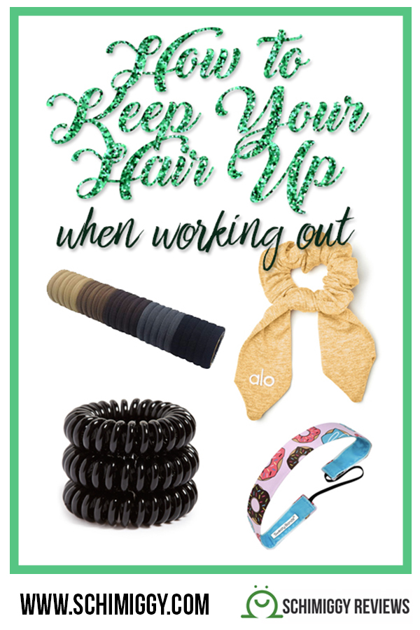 how to keep your hair up when working out schimiggy reviews pinterest