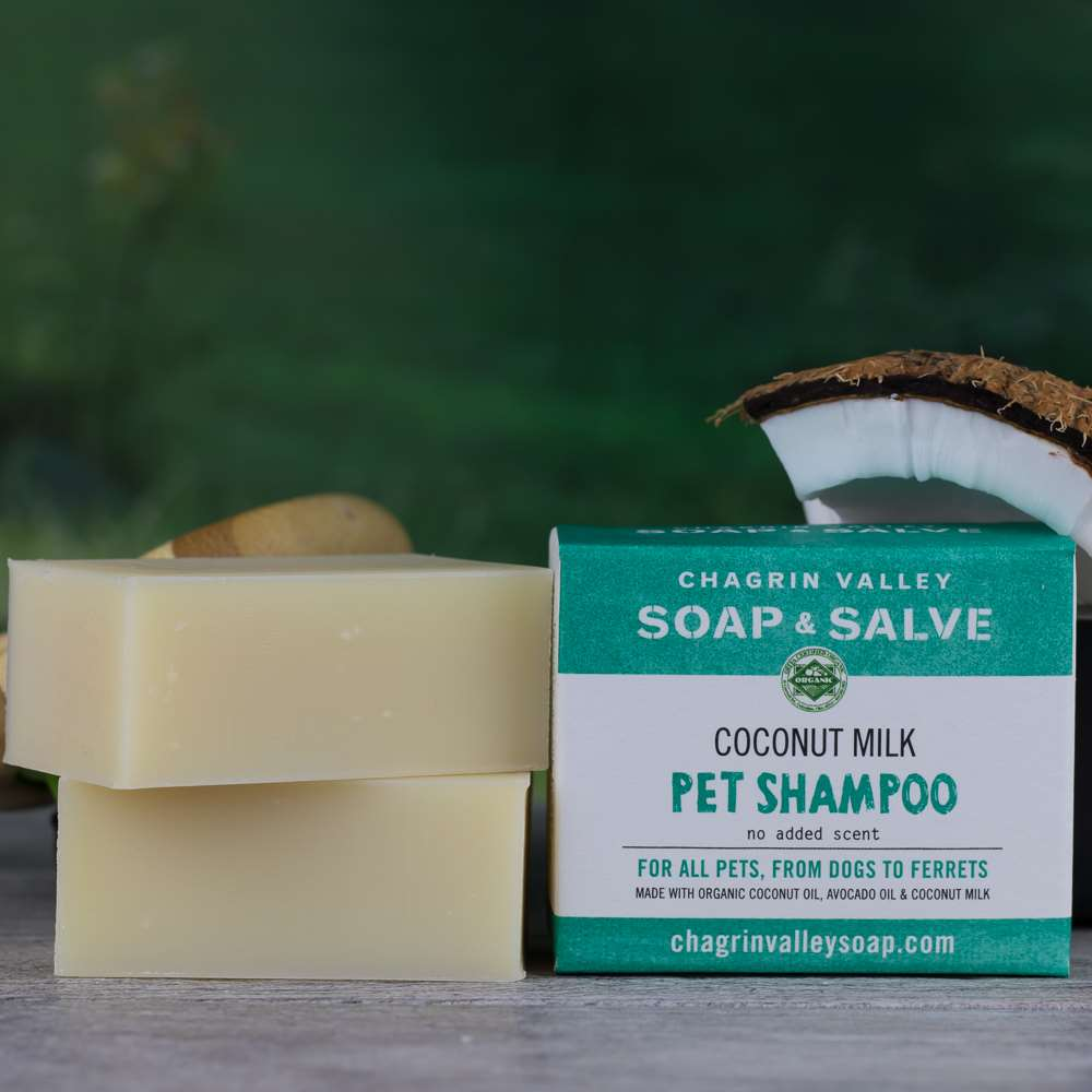 Chagrin Valley Soap pet shampoo bar