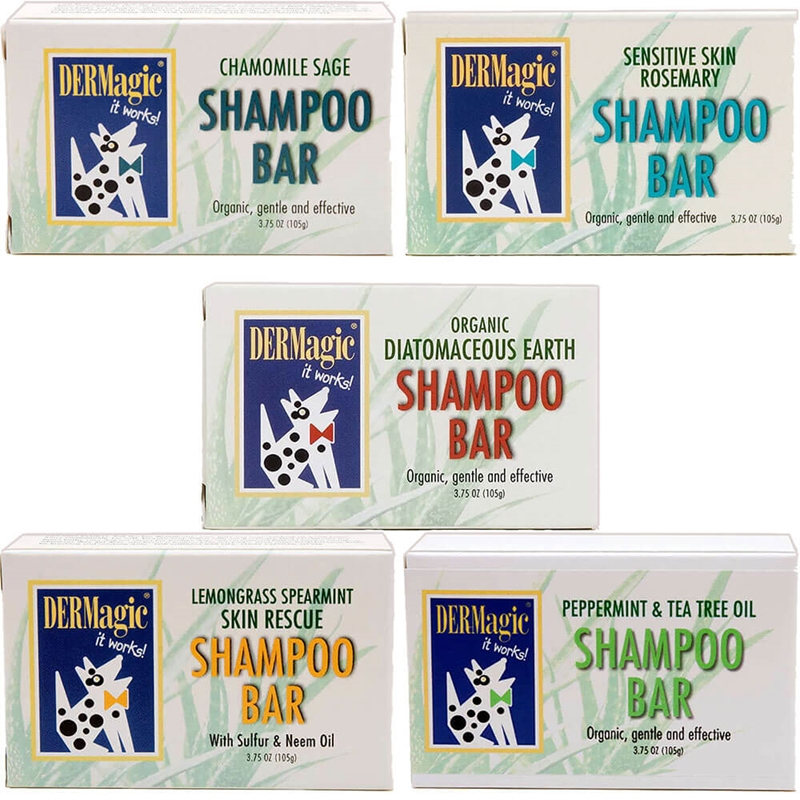 dermagic dog shampoo bar