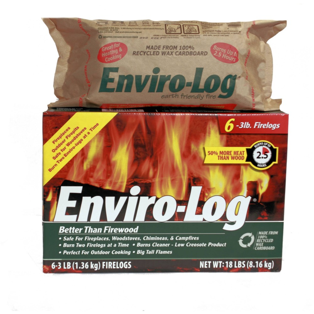 enviro log wood alternative eco-friendly option