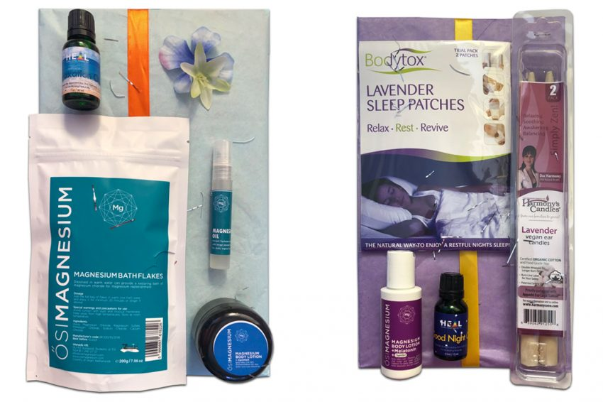 essential oil and relaxation kits my heal shop