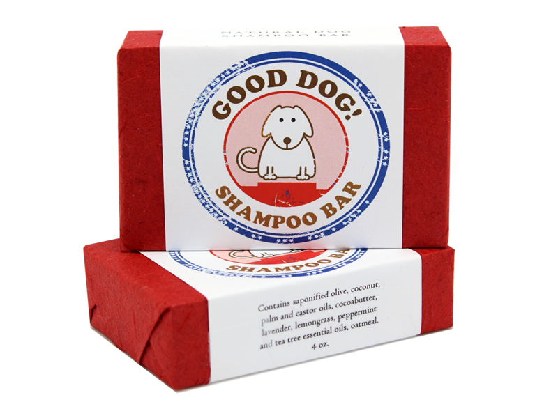 good dog shampoo bar