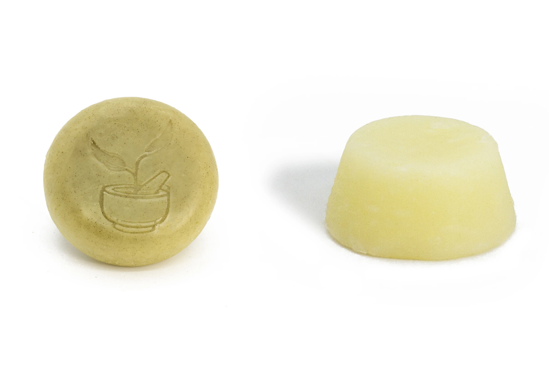 zero waste shampoo and conditioner bars Well Earth Goods