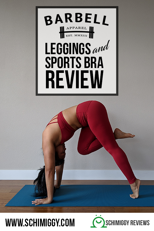 barbell apparel review leggings sports bra schimiggy reviews