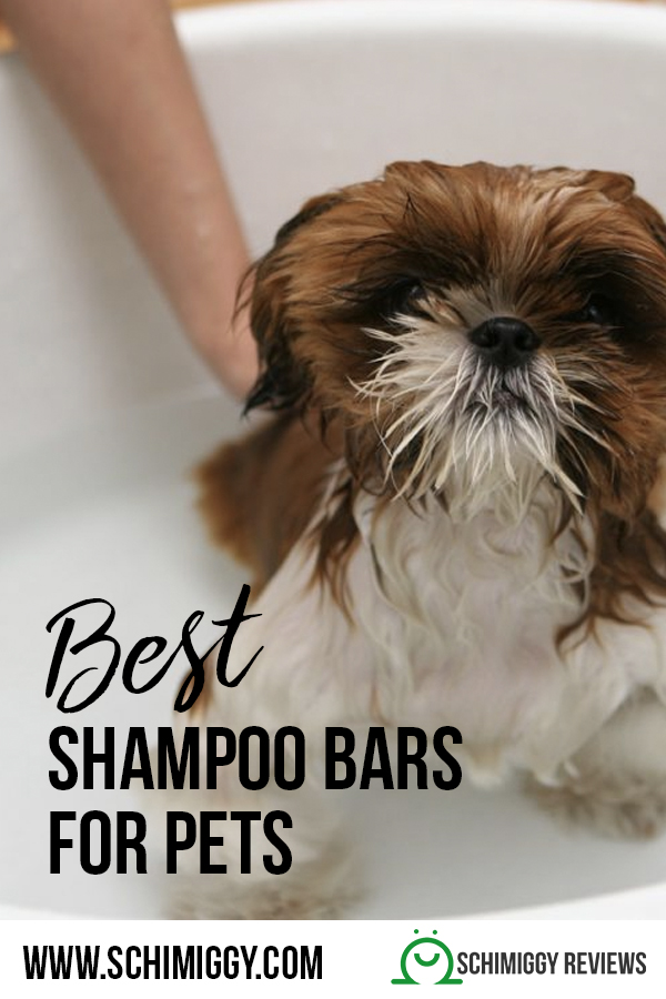 best non toxic shampoo bars for pets dogs cats