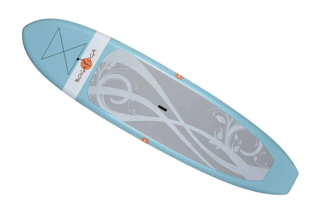 boga yoga blue SUP board