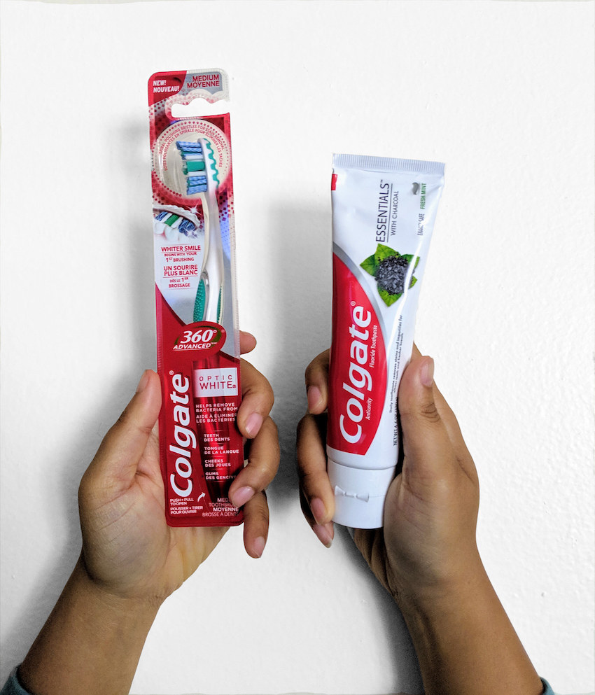 colgate charcoal toothpaste and toothbrush review