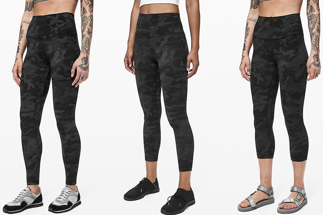 lululemon incognito camo align pants icmg