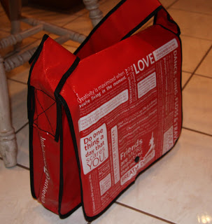 lululemon messenger bag repurpose shopping totes