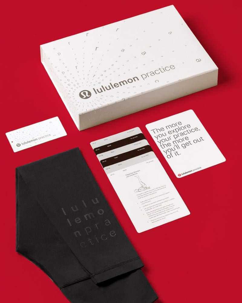 lululemon the practice subscription box contents