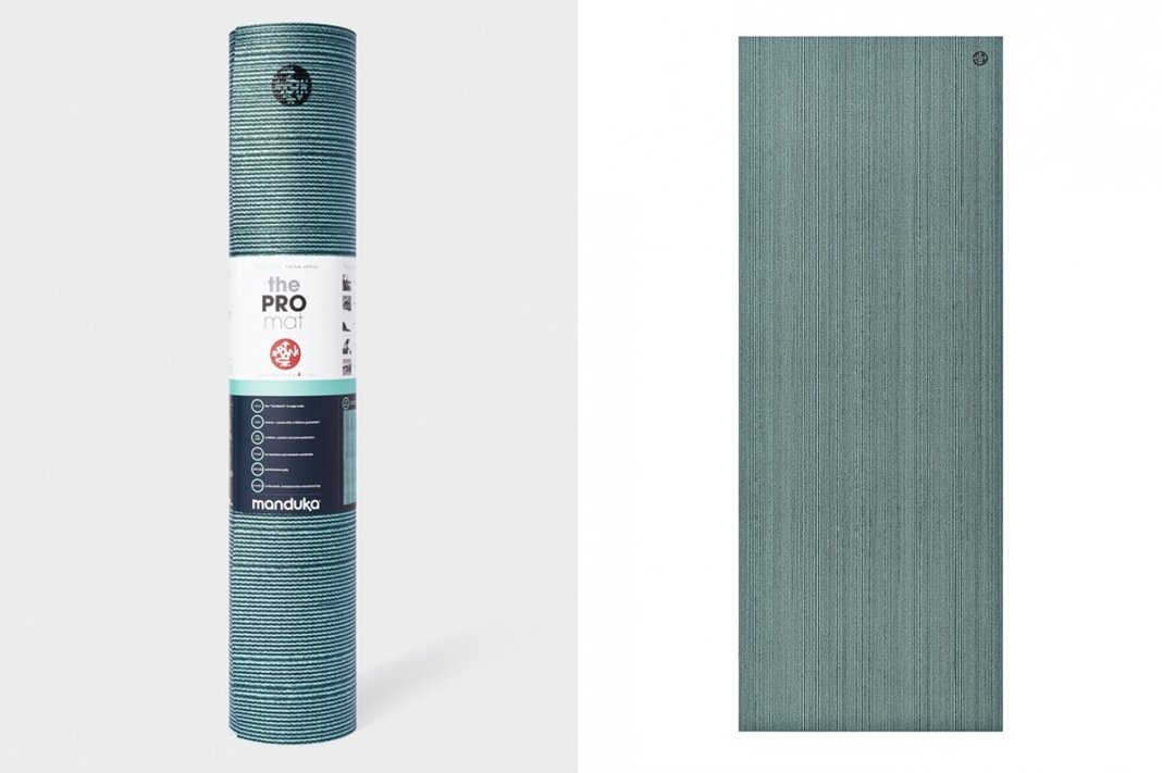 manduka yoga mat review pro sea star metallic green