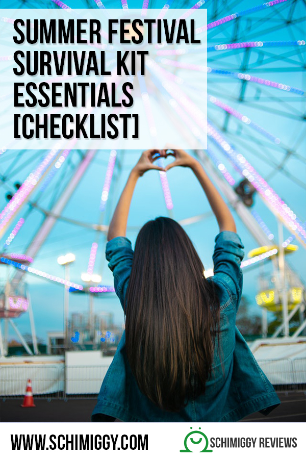 summer festival survival kit essentials checklist schimiggy reviews